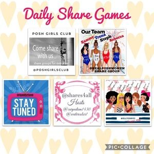 Some of My Favorite Daily Share Games